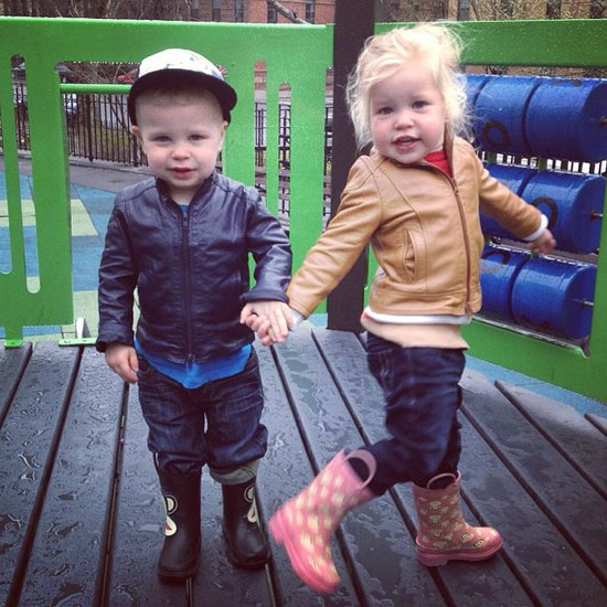 Gideon and Harper made a fun appearance on Neil Patrick Harris's new Instagram account. Source: Instagram user instagranph