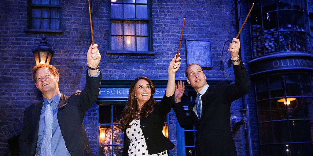 The Royals Channel Harry Potter, First Ladies Unite, and Massachusetts Honors Victims