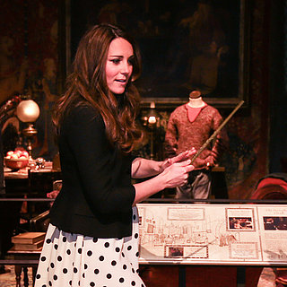 Kate Middleton and Prince William at Harry Potter Studio