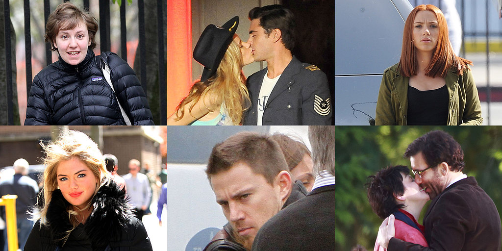 Channing Tatum, Scarlett Johansson, Zac Efron, and More Stars on Set