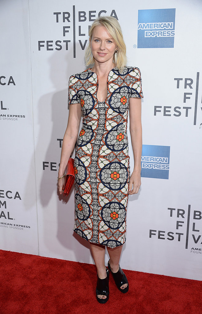 Naomi Watts at the Tribeca Film Festival premiere of Sunlight Jr. in New York.
