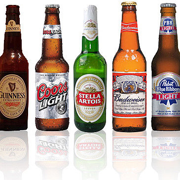 Calories in Popular Beers