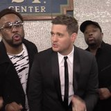Michael Bublé Singing in the Subway | Video