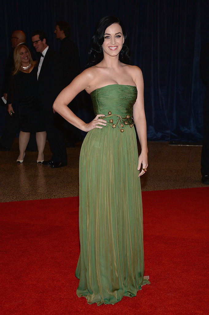 Katy Perry attended the White House Correspondents' Dinner.