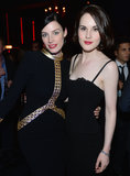 The New Yorker's party brought together Jessica Paré and Michelle Dockery.