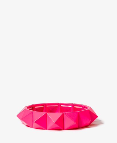 FOREVER 21 Spiked Stretchy Bracelet