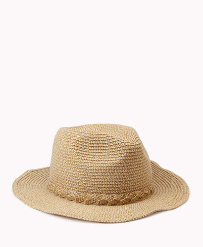 FOREVER 21 Wire-Framed Fedora