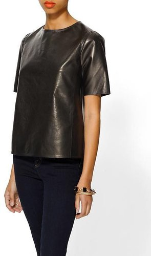 Vince Hi-Lo Leather Tee