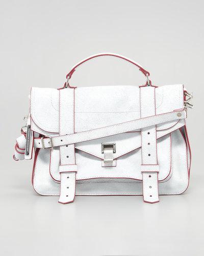 Proenza Schouler PS1 Medium Mailbag, White
