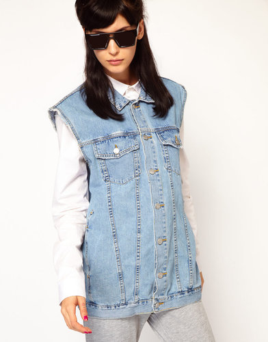 Cheap Monday Boyfriend Denim Gilet