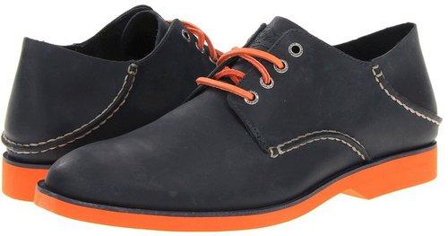 Sperry Top-Sider - Boat Oxford Neon (Navy/Orange) - Footwear