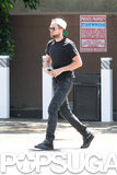 Robert Pattinson stepped out in LA.