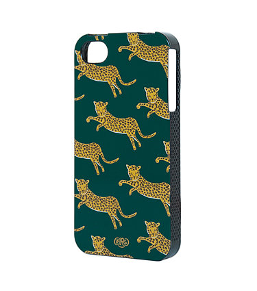 To be honest, iPhone cases have always seemed like a necessary evil, but then this one from Rifle Paper Co ($30) came along. Gold leopards leaping on a deep green background have me purring like a kitten. If only this came in a wallpaper version. The rest of the line isn't terrible either. — MJ