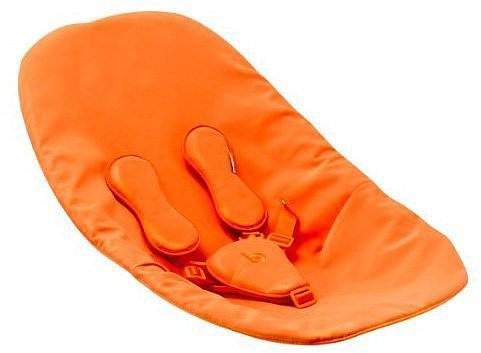 Bloom Coco Baby Lounger Seat Pad Harvest Orange