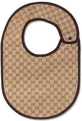 Gucci - GG Pattern Bib