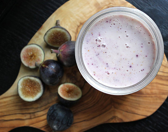 Sunday: Fig Honey Yogurt Smoothie