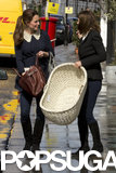 Kate Middleton and her mom bought a bassinet.