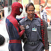 Jamie Foxx Filming The Amazing Spider-Man 2 | Photos