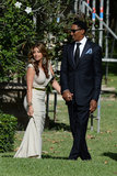 Scottie and Larsa Pippen attended Michael Jordan's wedding.
