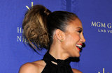 Jennifer Lopez laughed on the red carpet at the grand opening of Hakkasan in Las Vegas.