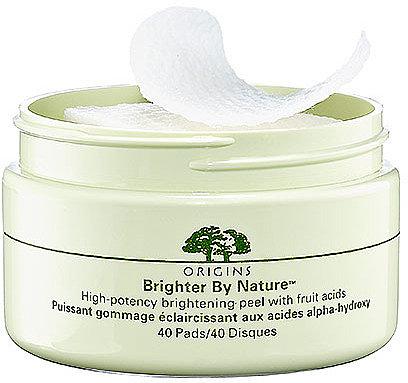 Origins Brighter By NatureTM; High-Potency Brightening Peel with Fruit Acids