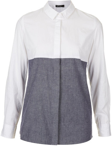 Chambray Mix Shirt