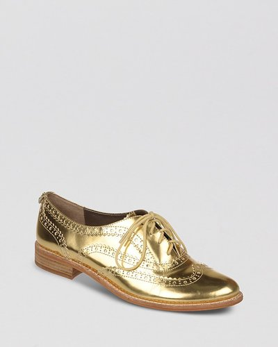 Sam Edelman Lace Up Oxford Flats - Jerome Spectator