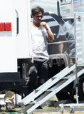 Johnny Depp Arrives on Set After a Steamy Night With Amber Heard