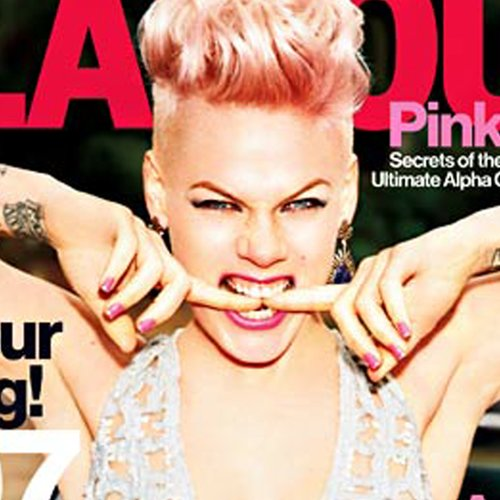 Pink on Glamour May 2013 Talks About Joey Fatone | Video