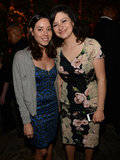 Aubrey Plaza and Alia Shawkat smiled at the afterparty.