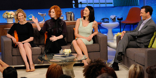 Watch Jon Hamm and His Mad Men Costars Talk Onscreen Cheating and Fat Betty