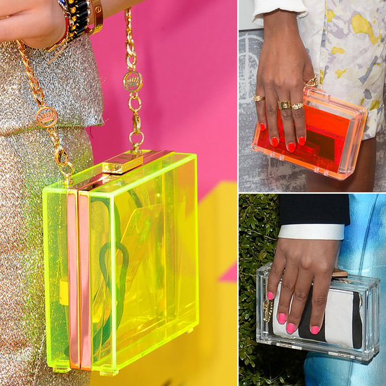 Lucite Clutches Are (Clearly) Having a Red Carpet Moment — the Proof Here