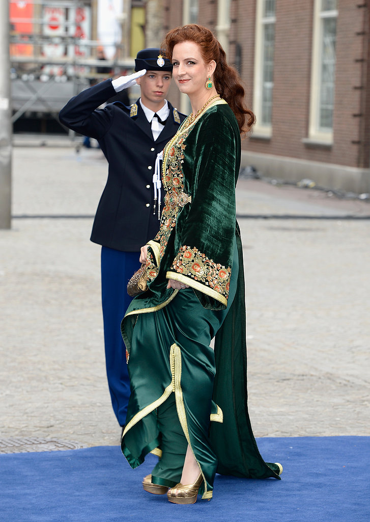 Princess Lalla Salma of Morocco wore a daring dress.