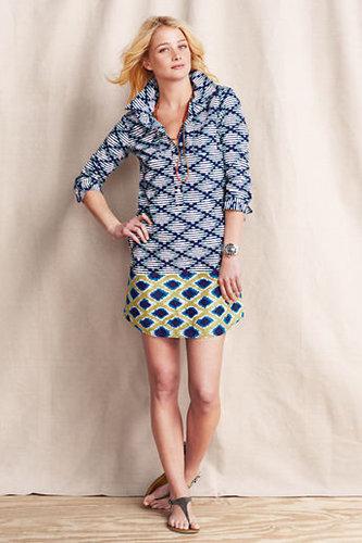 Women's Patterned Shirtdress