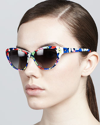 From the trendy shape to the bright floral pattern, these  Kate Spade New York Della Cat-Eye Sunglasses ($138) are at the top of my list for Summer accessories. I can't wait to wear them with . . . just about everything. — Jen Michalski