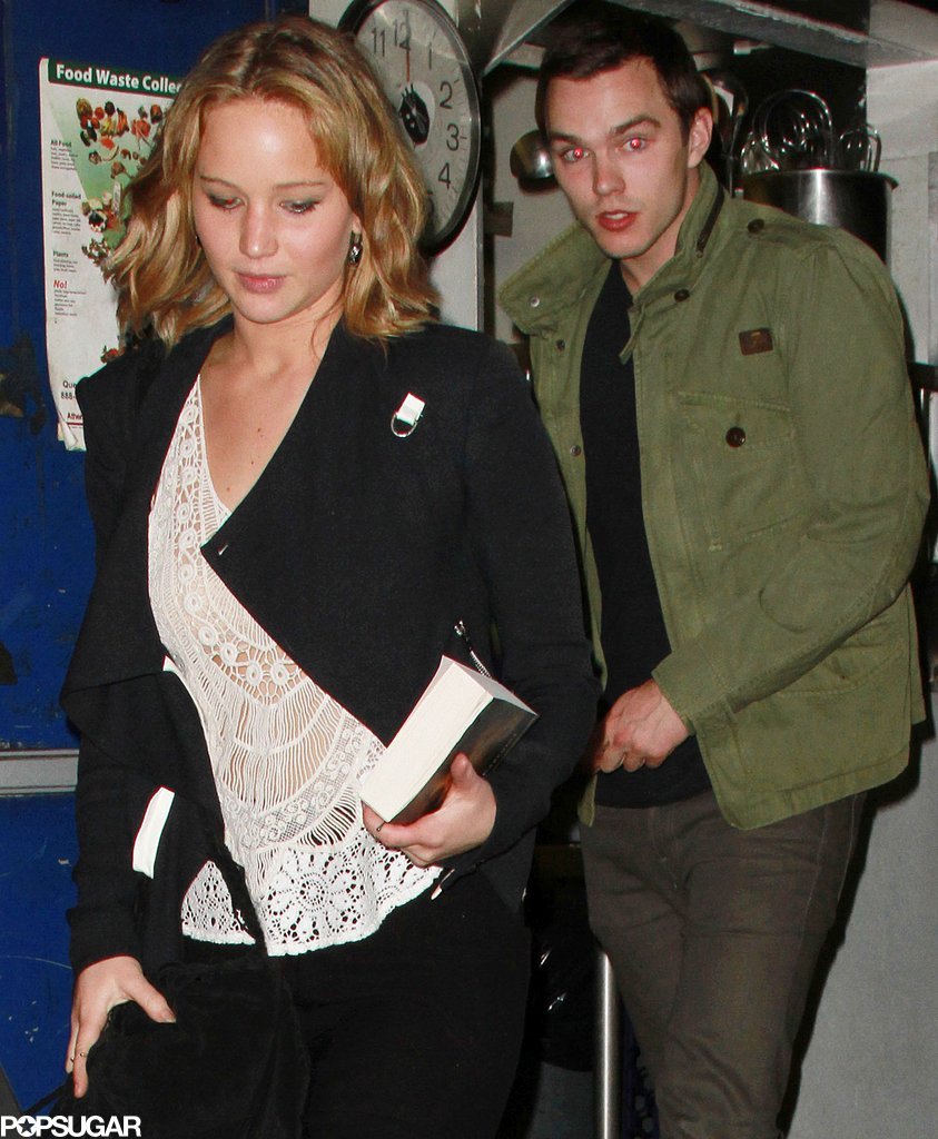 "Jennifer Lawrence and Her Ex Reunite For Dinner in a ""Private Room"""