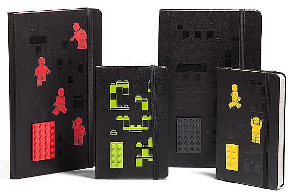 Lego Moleskine Notebooks