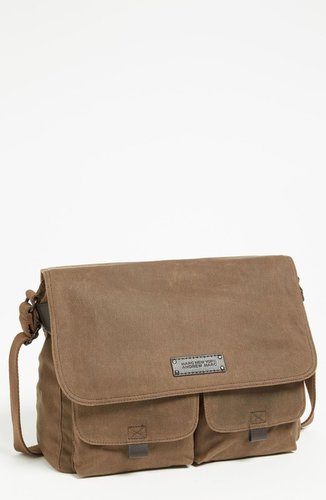 Andrew Marc 'Essex' Twill Messenger Bag