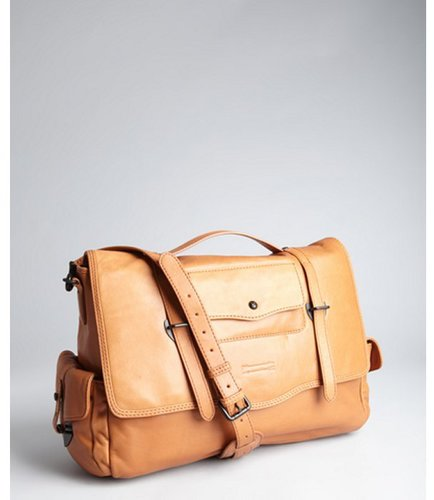 Ben Minkoff tan leather 'Nikki' messenger bag