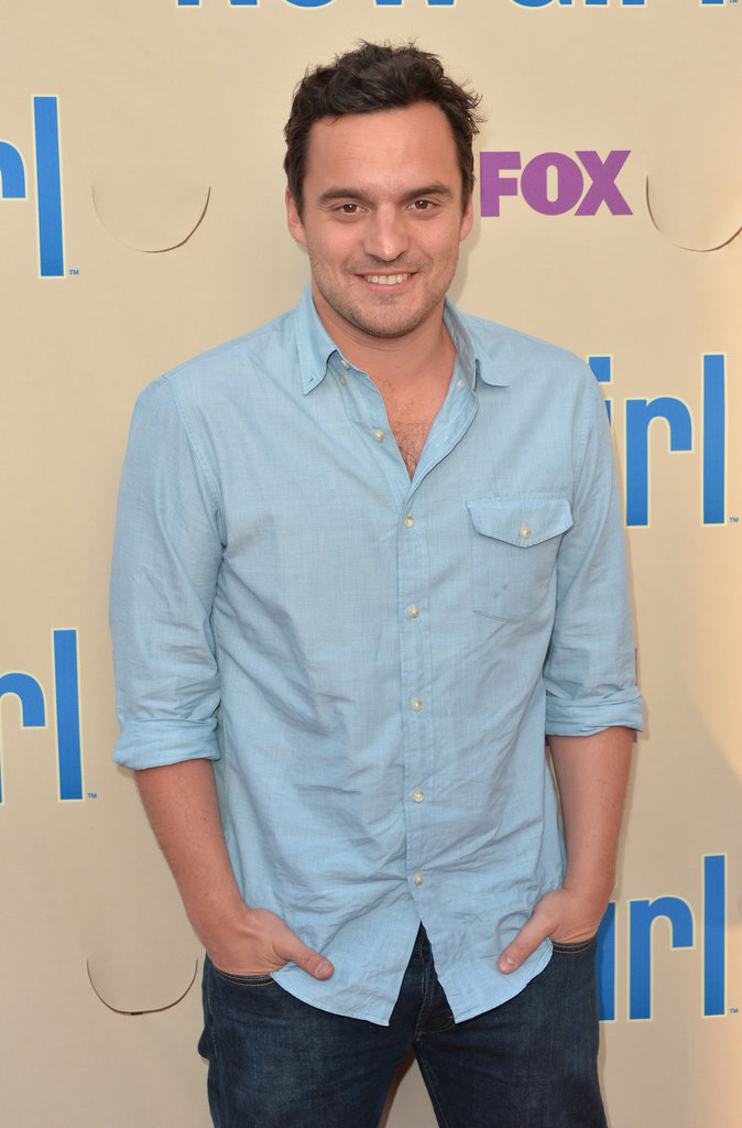 Jake Johnson attended a New Girl screening in LA.