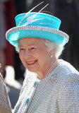 Tiffany blue has never looked more regal than on Queen Elizabeth II.