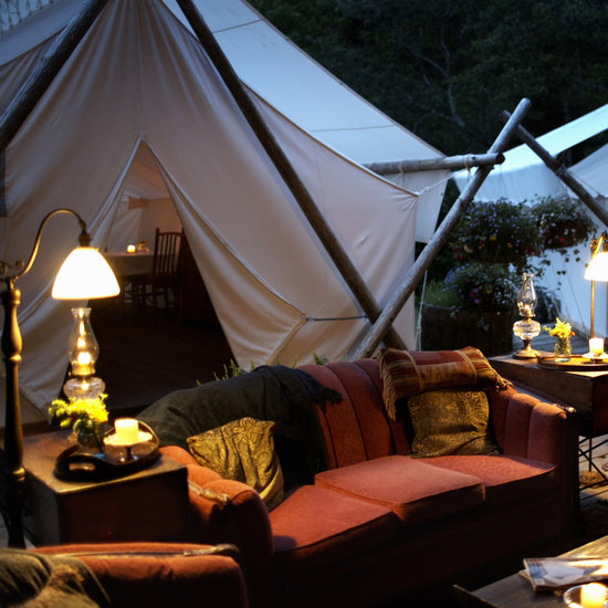 For the Nature-Loving Bride: Glamping