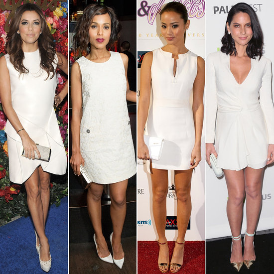 See How 30 Celebrities Style Their Little White Dresses