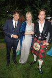 Jamie Hince and Kate Moss attended a friend's wedding reception in London in 2008.