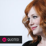 Christina Hendricks on How to Be Sexy