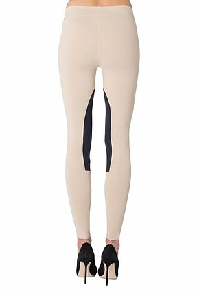 David Lerner Riding Pants in Blush/Black
