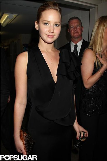 Jennifer Lawrence attended the afterparty.
