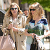 Sienna Miller With Her Mom at Lunch in NYC