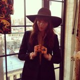 Florence Welch showed off her look before heading to The Great Gatsby premiere in NYC. Source: Twitter user flo_tweet