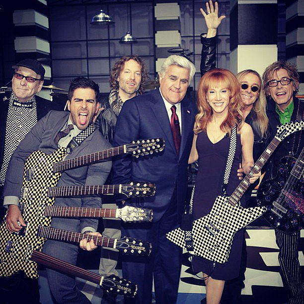 Eli Roth partied hard with Jay Leno and Kathy Griffin. Source: Instagram user realeliroth